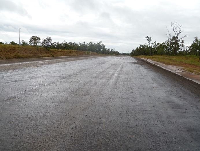 Haul Road Management Monson Season DUST A SIDE HINCOL